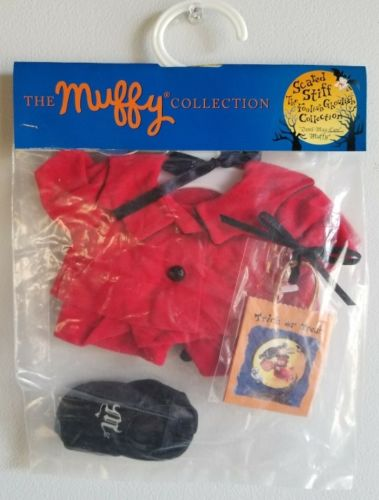 VINTAGE NIP Vanderbear MUFFY COLLECTION Clothes DEVIL MAY CARE HALLOWEEN Set