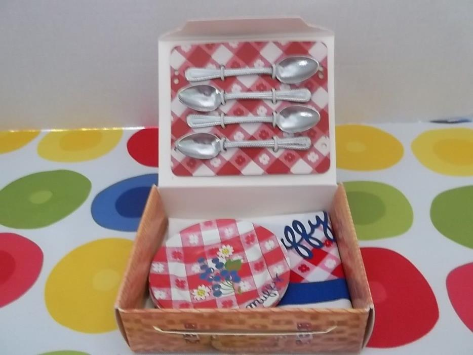 MUFFY VANDERBEAR~PICNIC BASKET SET~