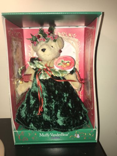 Muffy Vanderbear Couture Jingle Belle Bear Christmas 2003 North American Bear Co