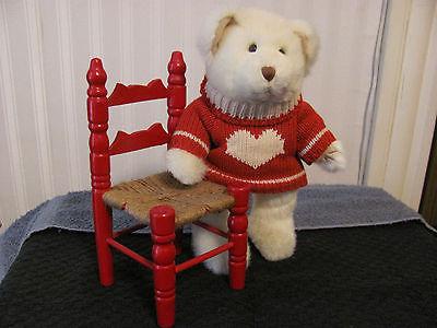TEDDY BEAR w/ Handmade Chair