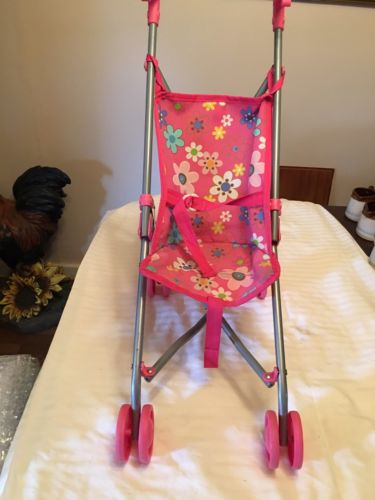 TOYSMITH FOLDING DOLL STROLLER