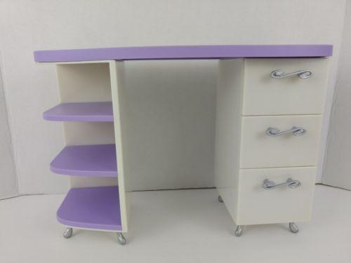 American Doll Vanity Desk Store Front Dresser Furniture Girls Toys Only Desk
