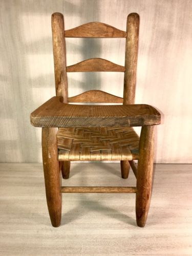 Vintage~Student Desk~Wood Chair~Dolls~Bears~Hand Made