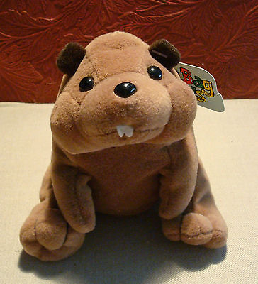 Bean Bag Friends Plush Creations Bean Bag Toy with Tag #4320 Beaver
