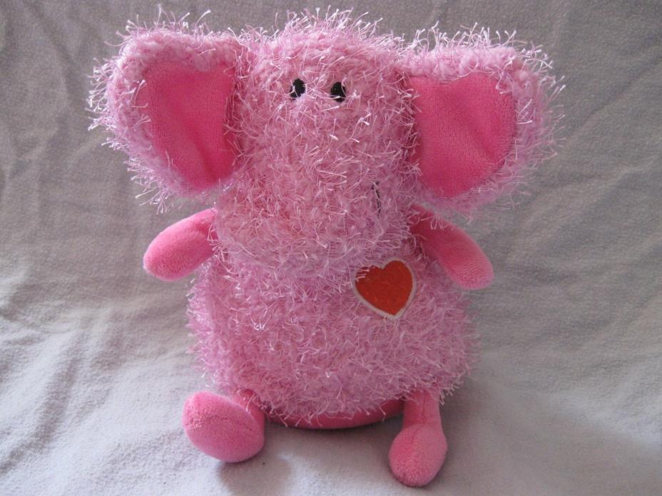 Hallmark pink elephant beanbag plush 7