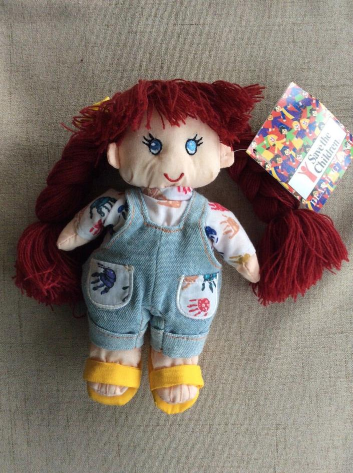 1998 Save the Children Bean Bag Plush Doll - Mackenzie - NWT