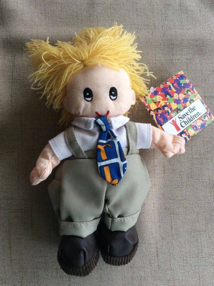 1998 Save the Children Bean Bag Plush Doll - Patrick - NWT