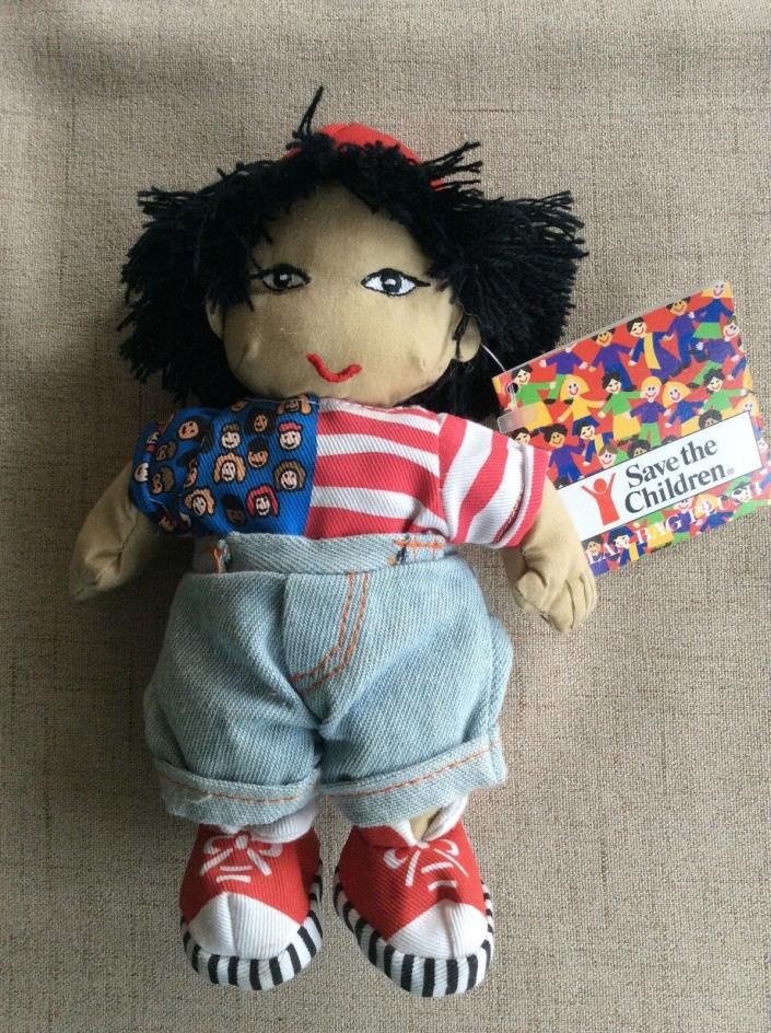 1998 Save the Children Bean Bag Plush Doll - Haruko - NWT