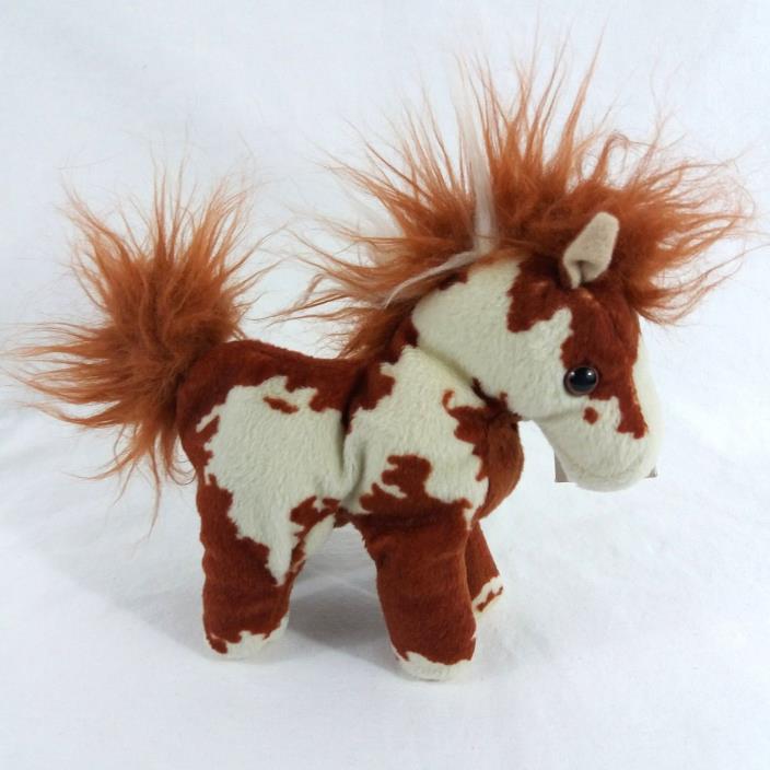 Breyer Hidalgo Mini Plush Horse Stuffed Animal 2004 Chestnut Pinto Bean Bag Toy