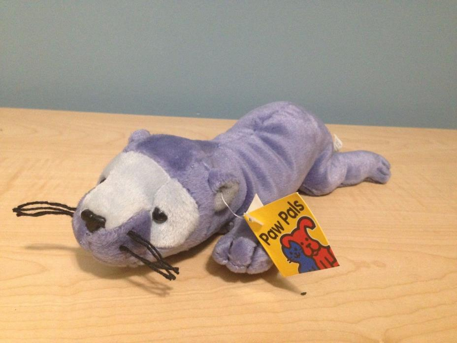 PET-CO PAW PALS rocket ferret  w/ CALYPSO THE CLOWN FISH tag BEAN-BAG PLUSH toy