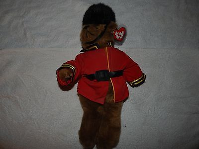 ty Attic Treasures Collection, Malcolm British Guard Bear