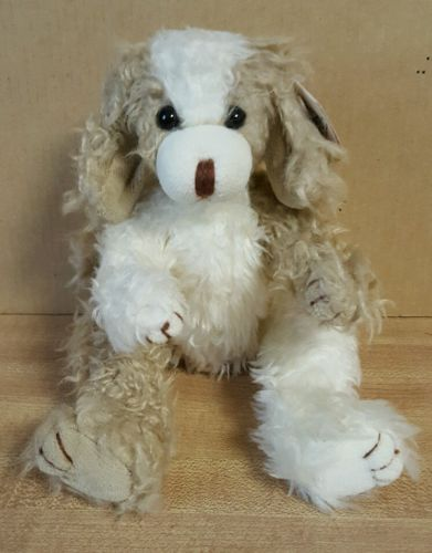 Ty Attic Treasures Scruffy Dog Jointed 9