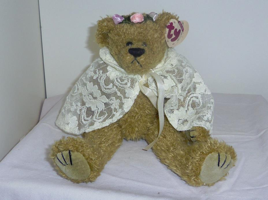 Eve large 12in TY Attic Treasures 1993 bear 6th generation hangtag 3up 6106