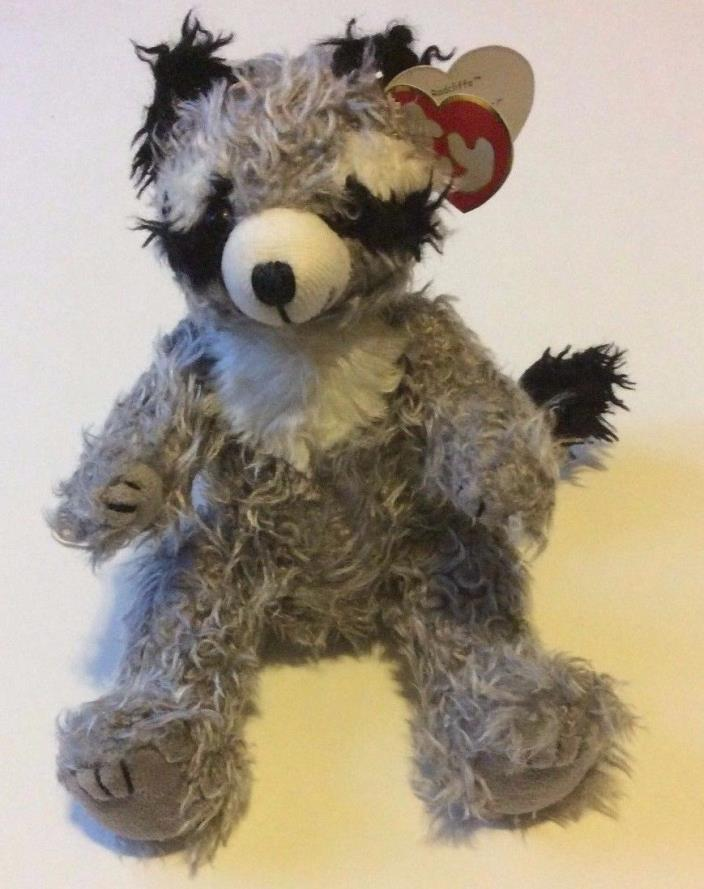 Ty Radcliffe Gray Raccoon Jointed 8