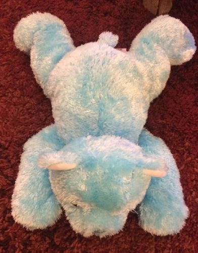 Ty Blue Bear Plush Named Cuddlecub with Rattle from 2001
