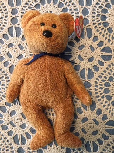 Ty Beanie Babies Collectible Fuzz The Bear 1999