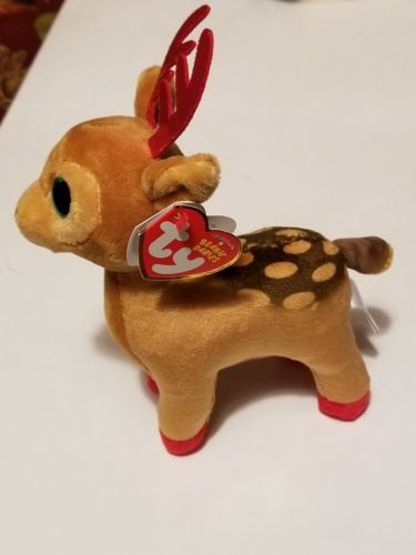 Ty Beanie Babies Tinsel the Christmas Reindeer  6