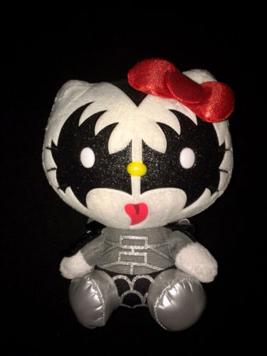 Ty KISS Hello Kitty Plush - THE DEMON - Gene Simmons