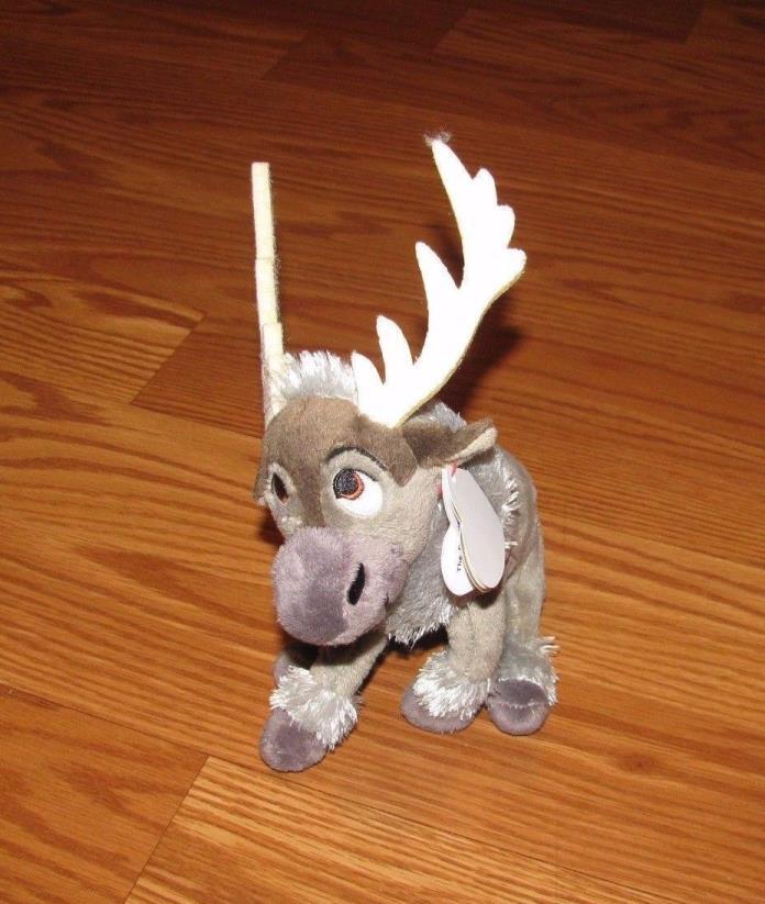 NWT Ty Sparkle Beanie Babies Disney Frozen Sven Reindeer Plush NEW 6.5