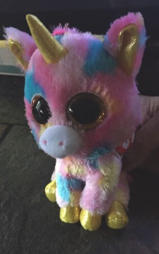 TY BEANIE BOO - Fantasia the Unicorn - 6