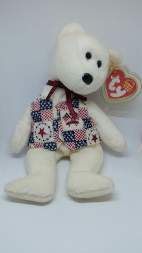 TY BEANIE BABY LIBERT-E 2003 COLLECTIBLE RETIRED