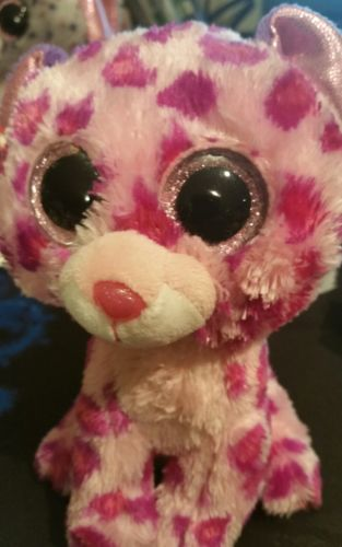 Ty Beanie Boo 6in Glamour The Pink Leopard