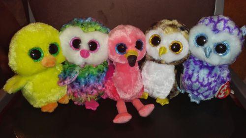 BUNDLE Ty Beanie Boos - Birds