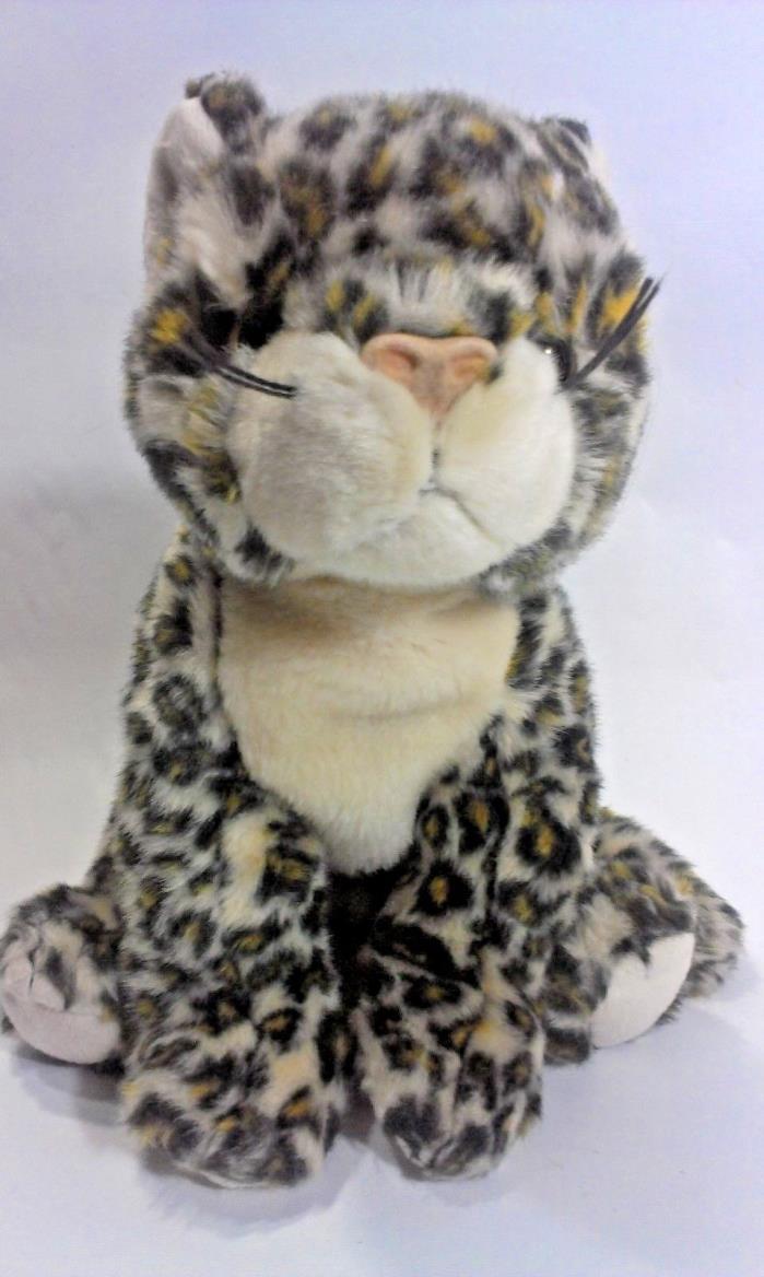 TY Beanie Buddy Leopard SNEAKY Cat Plush Stuffed Animal 2000 Cheetah Jungle