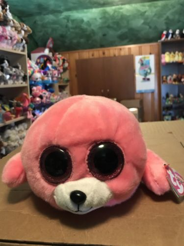 Ty PIERRE -Pink Seal Beanie Boo Buddy!