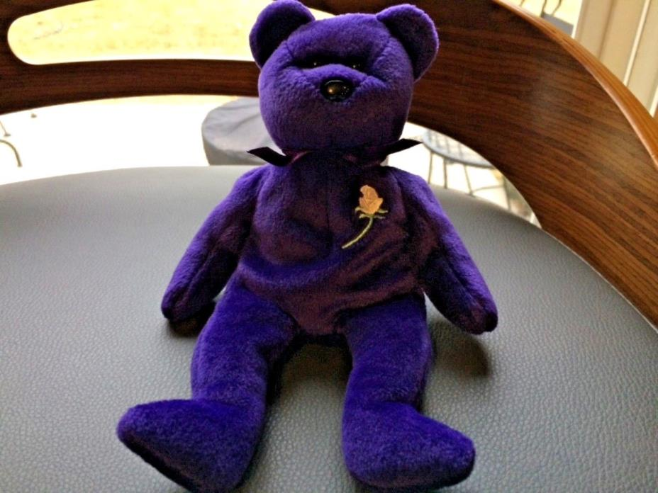 Ty Beanie Babies 1997 Princess Diana Bear RETIRED MINT