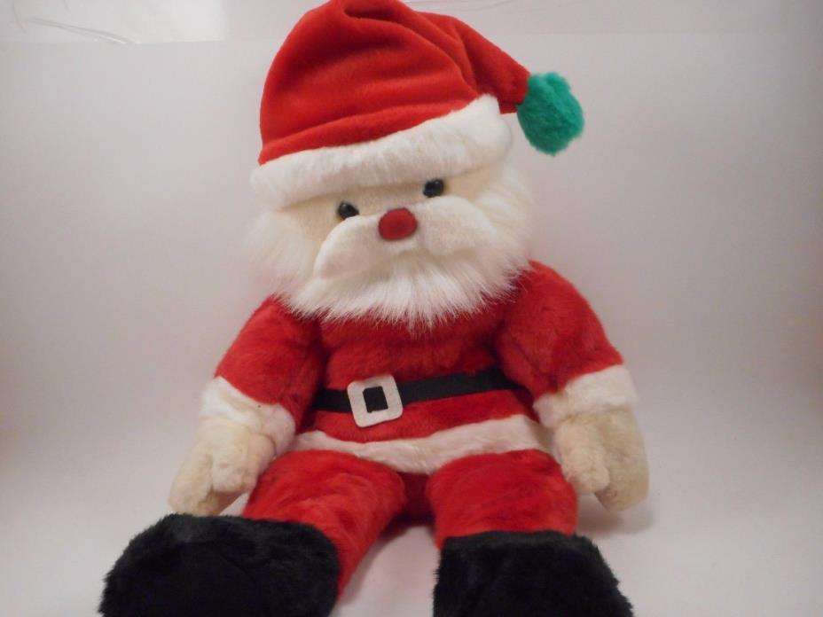 TY Beanie Buddies Collection Christmas Stuffed Plush Santa Claus