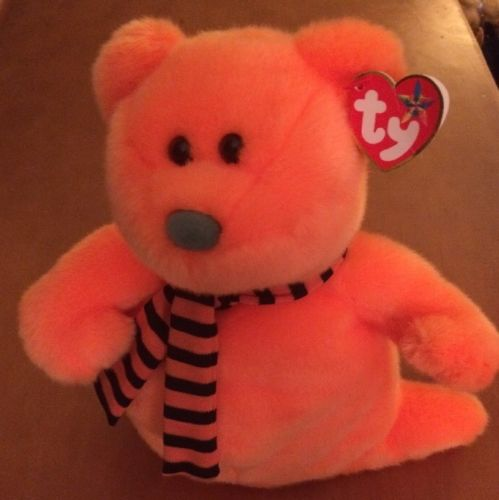 Ty Beanie Buddies Bear Named Shivers from 2007 10