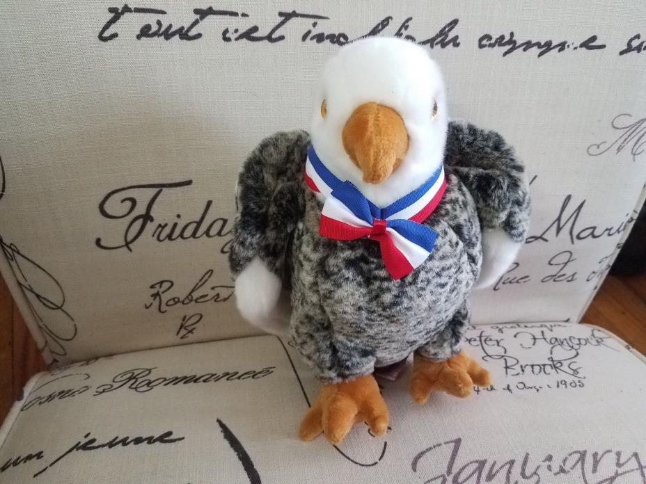 TY BEANIE BUDDIES VALOR American BALD EAGLE Plush stuffed animal Toy 11