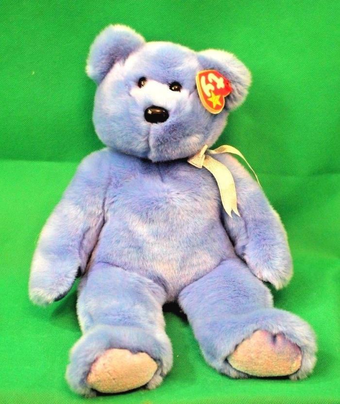 TY Bear Plush Beanie Buddies CLUBBY II Large 1999 Stuffed Animal