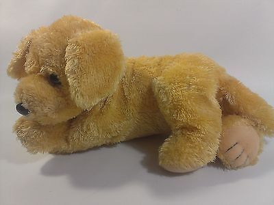 Ty Plush Golden Retriever Puppy Dog Bean Bag Buddy Stuffed Animal Plush 2010 12