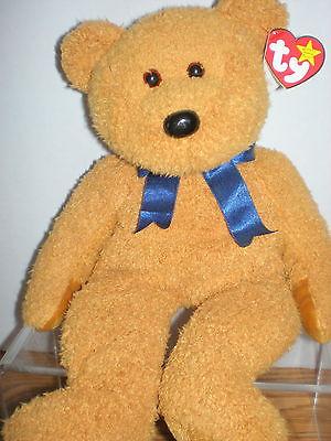 Fuzz New MWMT TY Beanie Buddy Bear Collectors Quality