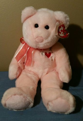 Ty Beanie Buddy Plush SWEETEST Bear Ty Store Exclusive NWT