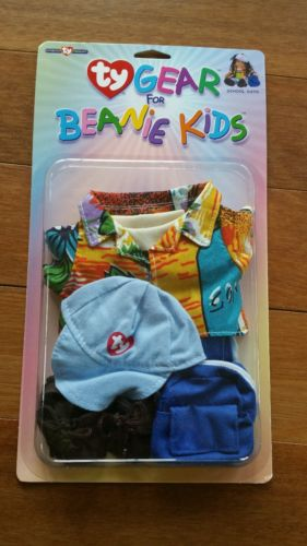 NEW NIP Ty Gear for Beanie Kids Doll Clothes Outfit Set - School Days