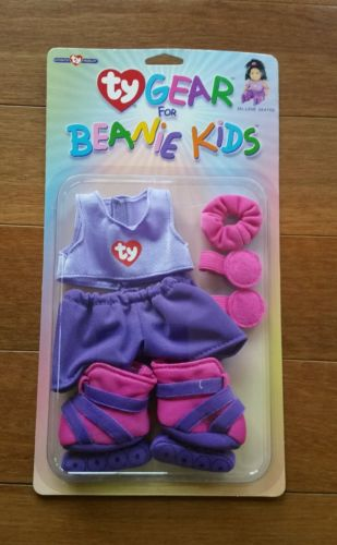 NEW NIP Ty Gear for Beanie Kids Doll Clothes Outfit Set - In-line Skater