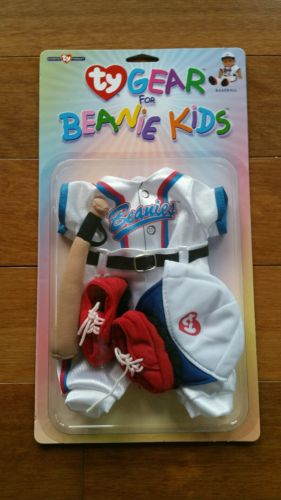 NEW NIP Ty Gear for Beanie Kids Doll Clothes Outfit Set - Baseball