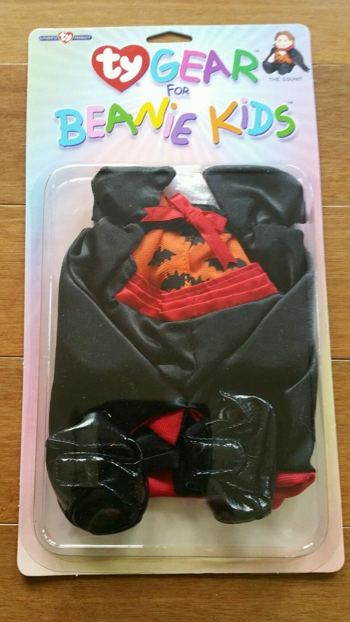 NEW Ty Gear for Beanie Kids Doll Clothes Outfit Set Vampire Dracula - The Count