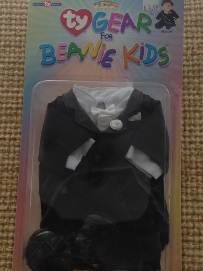 GROOM TY Gear for Beanie Kids Brand New  in Original Packaging!