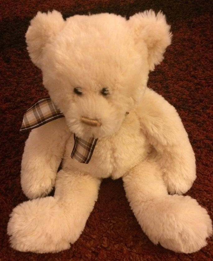 Ty Classic Cream Bear Named Charisse from 2006
