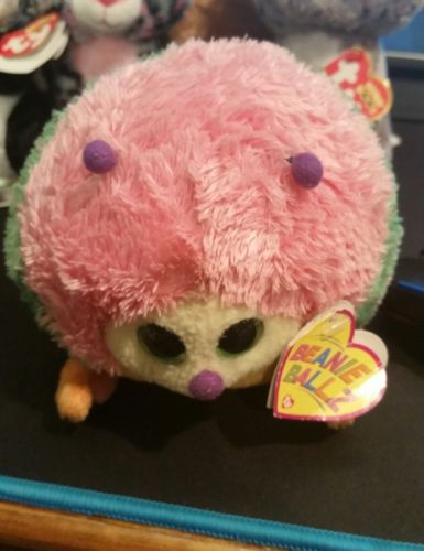 Ty Beanie Ballz Gumdrop The Caterpillar 5.5