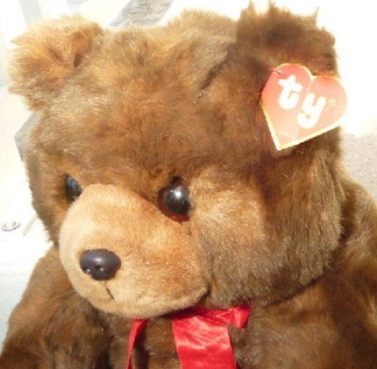 Vintage 1990 Classic TY Plush LARGE McGEE Teddy Bear 20