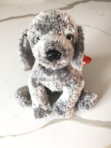 Ty Beanie Babies RARE CLASSIC WMT **MERCURY**  Ty Silk Puppy Dog