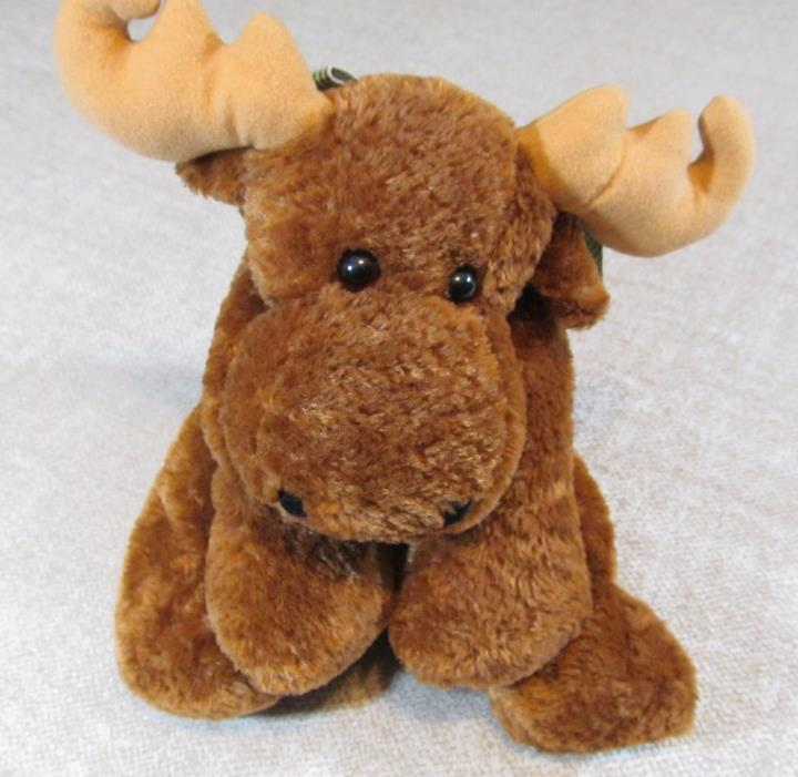 Mary Meyer Relaxed Maine Canadian Moose Bean Plush Soft Toy Stuffed Animal 15