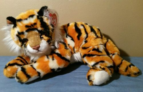 Ty Classic Plush PINSTRIPES the Bengal Tiger NWT 15