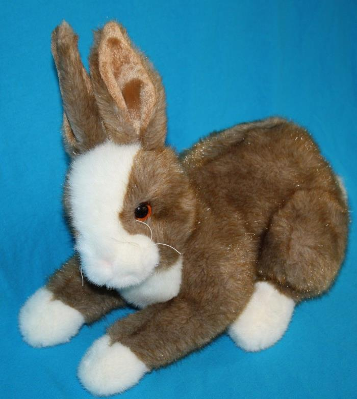 TY Classic THIMBLES Easter BUNNY RABBIT Plush Soft Toy Stuffed 2002 Realistic