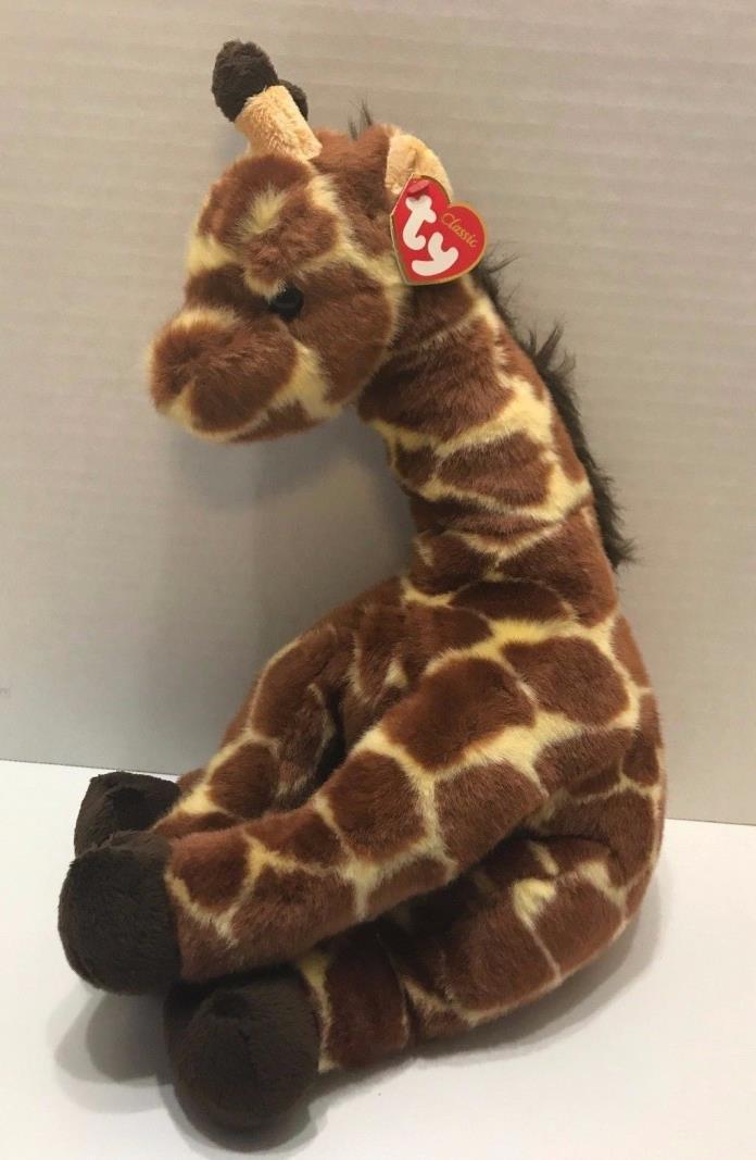 Ty Classic Hightops Giraffe Plush 14